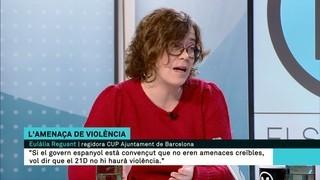 """Eulàlia Reguant: """"La unilateralitat és el que va permetre un 1-O, amb tota la repressió i violència policial que hi va haver"""""""