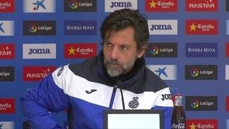 Quique Sánchez Flores critica la directiva