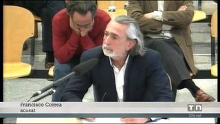 Correa diu que el PP valencià l'obligava a fer factures falses i els empresaris reconeixen els pagaments