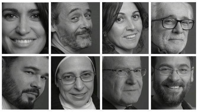 Personalitats de famílies castellanoparlants reivindiquen l'ús del català