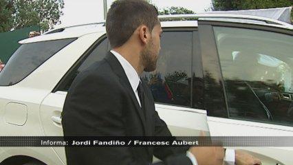 Mig Barça a la boda de Xavi abans de la pretemporada