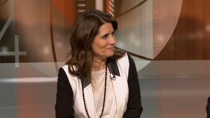 Entrevista a Gemma Calvet, advocada. Avui ha declarat com a testimoni al judici pel 9-N