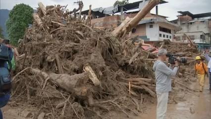 Centenars de morts per l'allau a Colòmbia