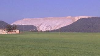 La muntanya de residus salins del Cogulló a Sallent (ACN)
