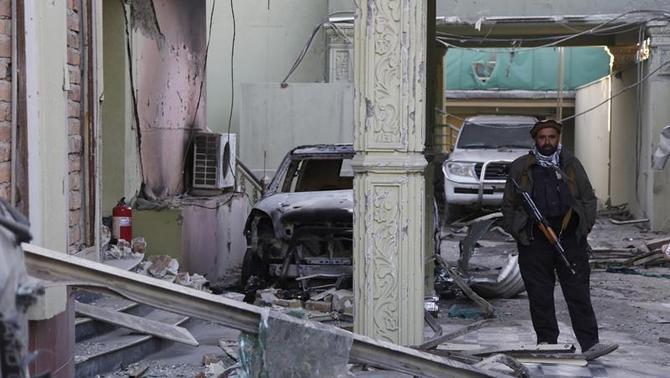 Els talibans neguen que el seu objectiu fos l'ambaixada espanyola a Kabul