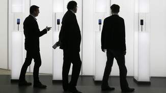 Congressistes del Mobile World Congress (Reuters)