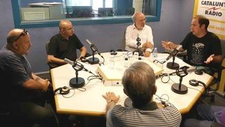Francesc Ribera, Eduard López, Josep M. Terricabras, Oriol Rodríguez i Josep Murgades