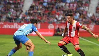 Girona, 1 - Màlaga, 0. La primera part