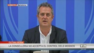 La declaració de Forn: els Mossos no accepten el control del Ministeri de l'Interior
