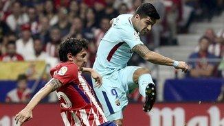 Luis Suárez en una acció al Wanda