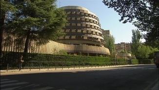 Façana del Tribunal Constitucional, a Madrid