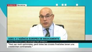 """Josep Tabernero: """"S'ha fet un esforç molt important i Barcelona té oportunitats d'aconseguir altres coses"""""""