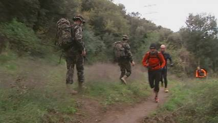 Collserola, camp militar d'entrenament