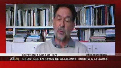 Entrevista a l'escriptor Suso de Toro