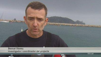 Retiren les xarxes abonadonades al fons de les Illes Medes