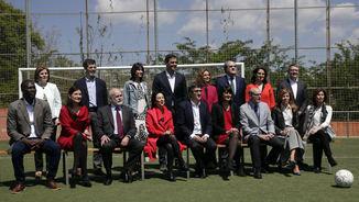 La foto d'equip del PSOE a les generals del 26 de juny