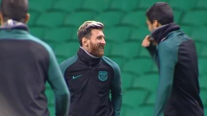 El Barça recupera el trident contra el Celtic