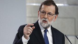 """Rajoy avisa els independentistes que no repeteixin errors perquè """"Espanya sap defensar-se"""""""