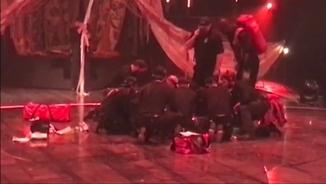 Un acròbatadel Cirque du Soleil ha mort a conseqüència d'una caiguda en un espectacle a Tampa, a Florida