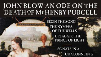 John Blow: An Ode on the Death of Mr Henry Purcell & other works (Hyperion)