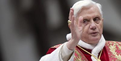 El papa Benet XVI visitarà Israel al mes de maig