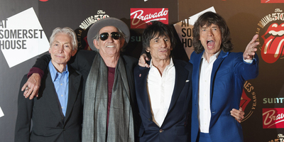 Mick Jagger, Keith Richards, Charlie Watts i Ronnie Wood.