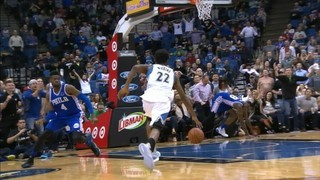 Top 3 NBA (24/11): Brutal esmaixada de Wiggins