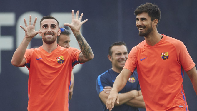 Paco Alcácer i André Gomes