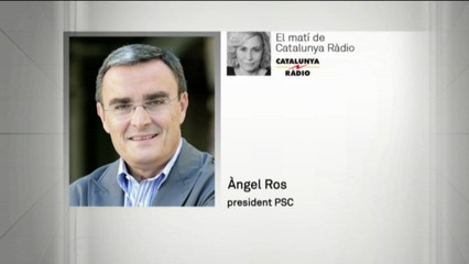 Advertiment de Ros al PSOE