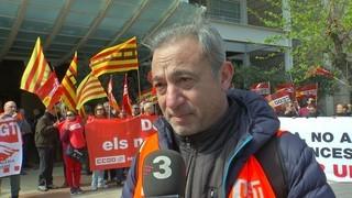 Concentracions sindicals per salaris dignes