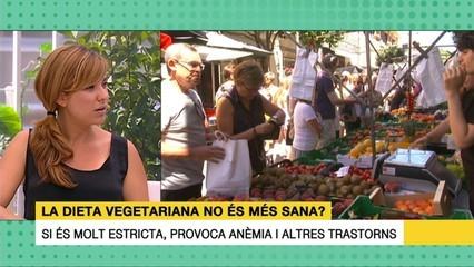 La dieta vegetariana no és sana? Núria Coll ens ho explica