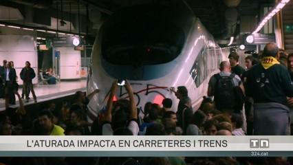 L'impacte de la vaga en carreteres i trens