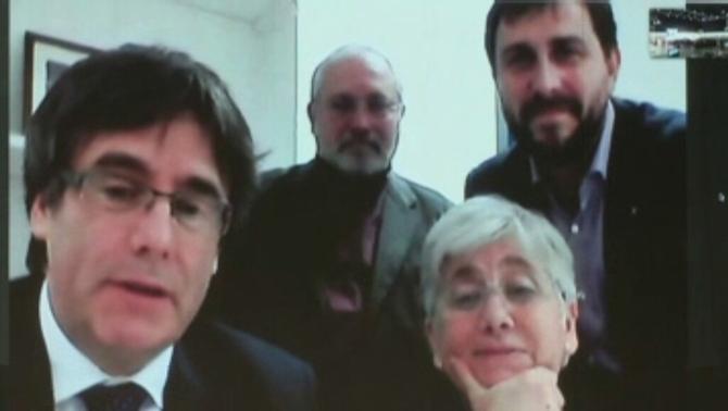 Bèlgica aixeca les mesures cautelars a Puigdemont i als consellers cessats