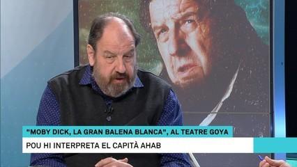 """Josep Maria Pou: """"El capità Ahab és un home malalt de venjança, malalt d'odi"""""""