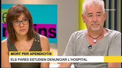 Els pares de Gabriel Pérez volen saber si se'n podria haver evitat la mort i estudien denunciar l'hospital