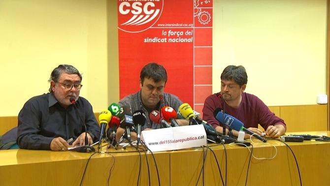 Foment presentarà una demanda al TSJC contra la vaga general del 8 de novembre