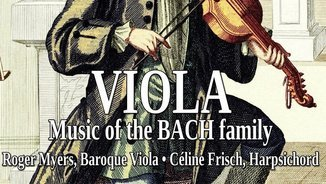 VIOLA MUSIC OF THE BACH FAMILY (NOTOS)