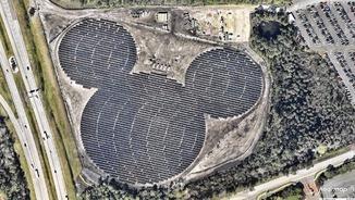 Mickey Mouse solar