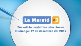 Diumenge 17 de desembre, la Marató a TV3 dedicada a les malalties infeccioses