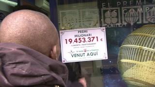La Grossa de la Primitiva deixa un premi de més de 19 milions d'euros a Canovelles