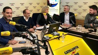 Josep Vendrell, Carles Campuzano, Mònica Terribas, Carlos Carrizosa i Gabriel Rufián