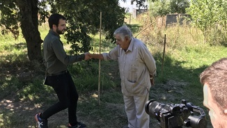 "El making-of del ""Quatre gats"" de Pepe Mujica"