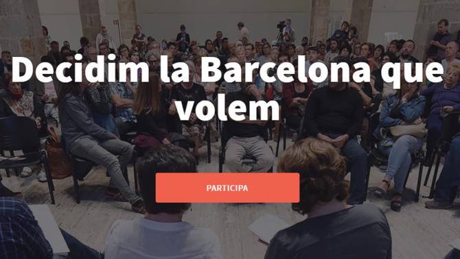 Barcelona impulsa una multiconsulta ciutadana cada mes de maig