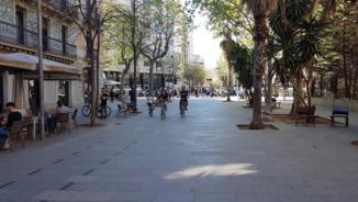 Carrer Enric Granados de Barcelona, un exemple d'urbanisme de futur
