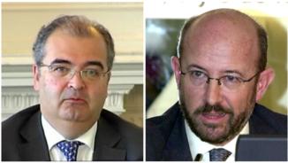 Ángel Ron i Emilio Saracho