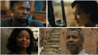 Mahersala Ali, Ruth Negga, Octavia Spencer i Denzel Washington
