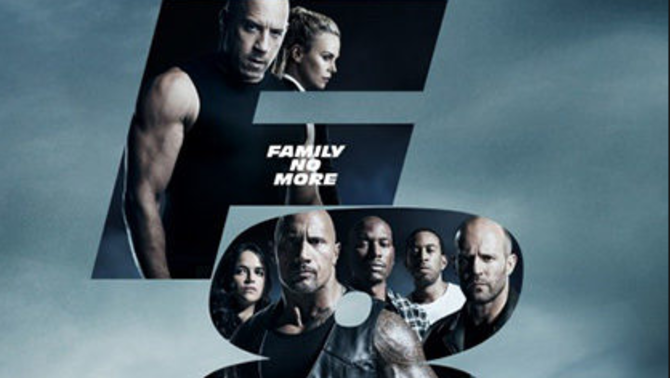 "cartell ""Fast and Furious 8"""