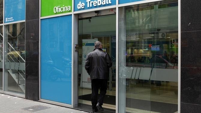 L'atur creix en 4.600 persones al novembre a Catalunya