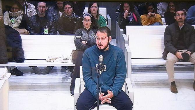 """El raper Hasél, acusat d'injúries al rei, diu que parla de """"fets objectius injustos"""""""