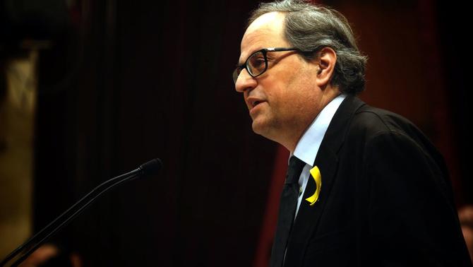 Quim Torra, el pla D de Puigdemont per a la presidència de la Generalitat